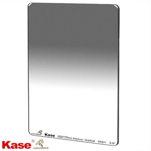 Kase Wolverine Shockproof 100mm x 150mm Medium Grad ND0.9 Filter 3 Stop Neutral Density Optical Glass 100 150 ND GND